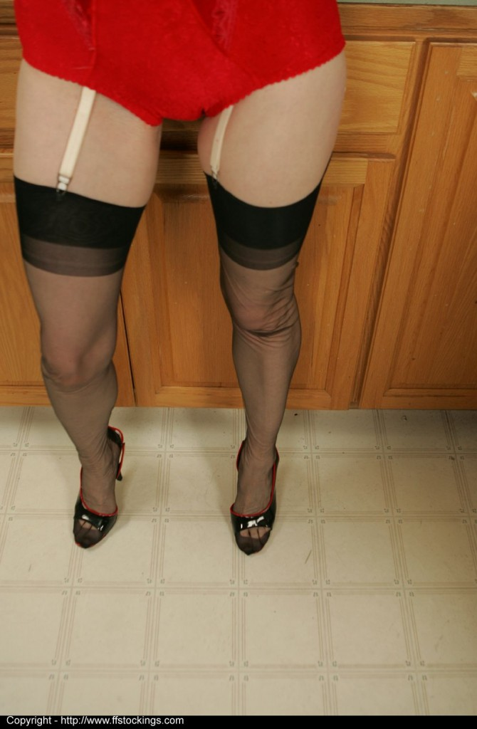 juliakitchen7p064 670x1024 Stockings, Stockings, Stockings