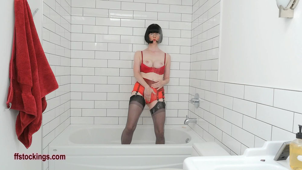 full34 Soaked and See Through Lingerie