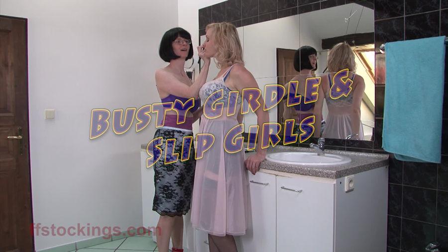 test1 Busty Girdle And Slip Girls