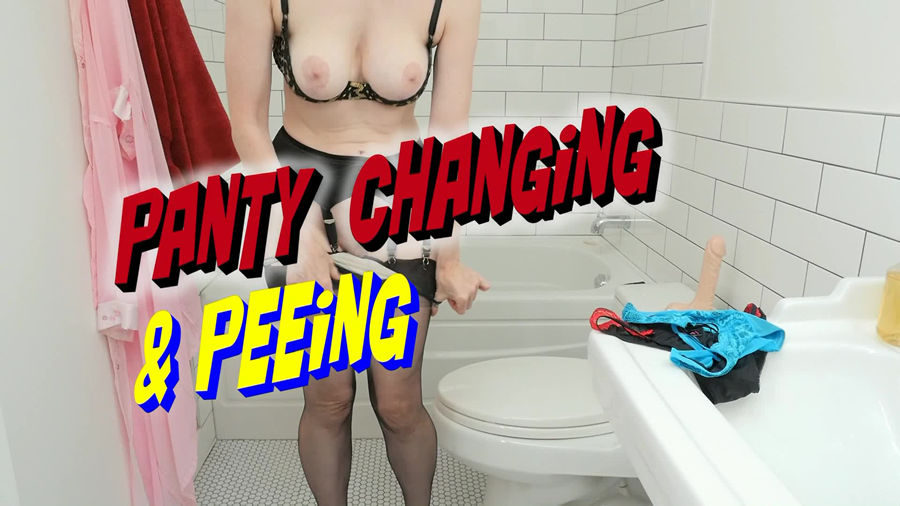 test3 Panty Changing And Peeing