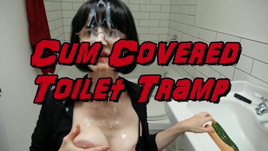 test11 Cum Covered Toilet Tramp