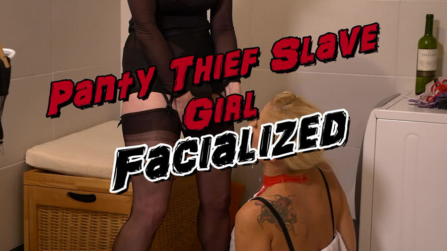 test1 Panty Thief Slave Girl Facialized