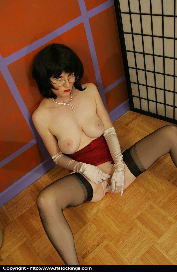 Seamed Stockings Xxx 31