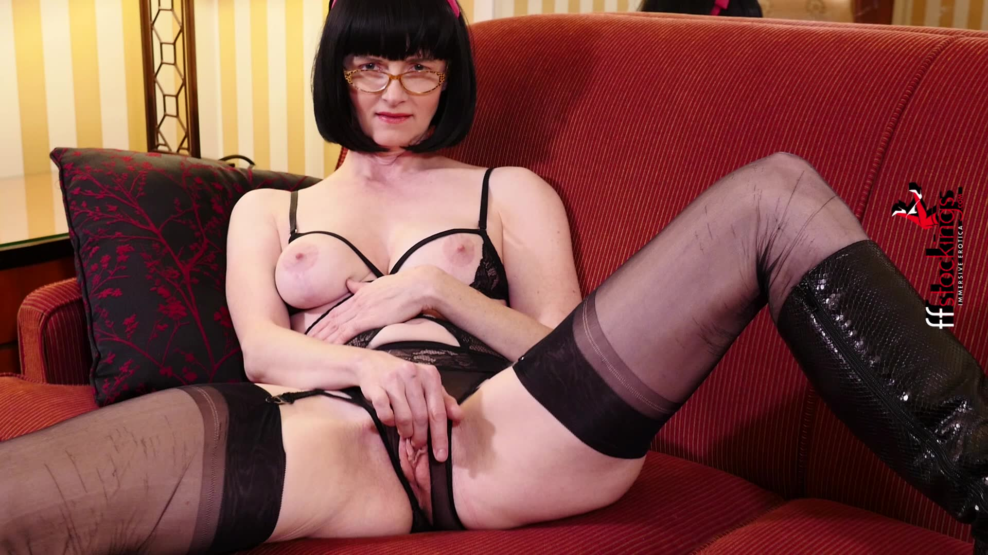 Crotchless panties tgp