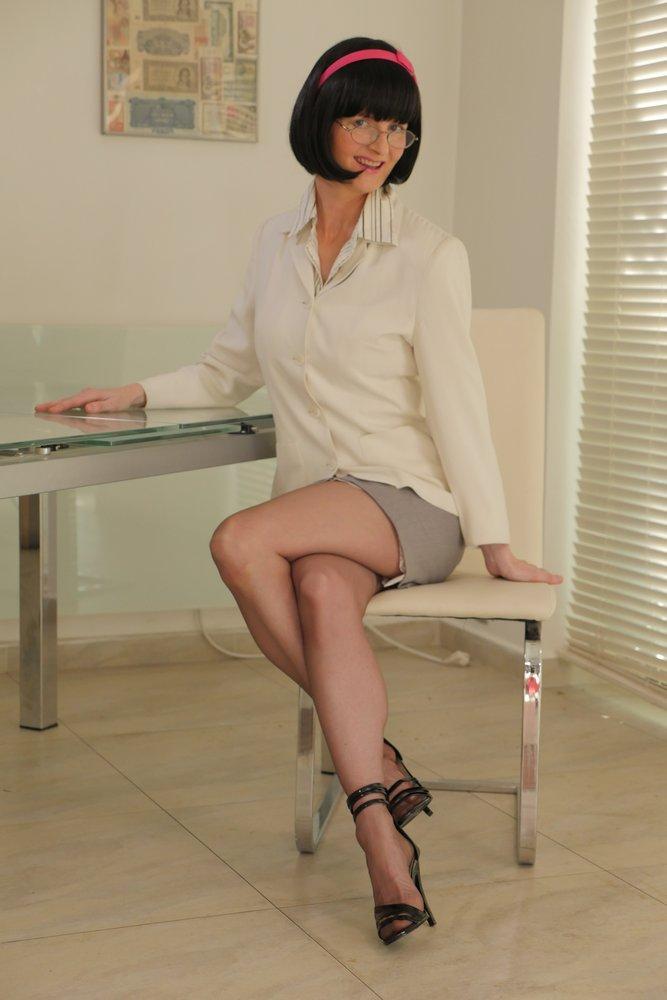 full1 Victoria Sweet, Garter Belt, Stockings, Bra and Panties