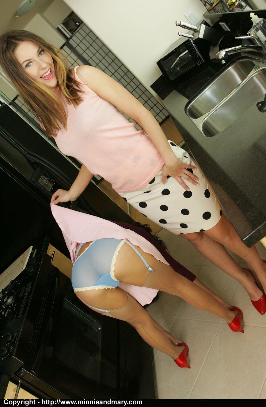 Upskirt see my panties