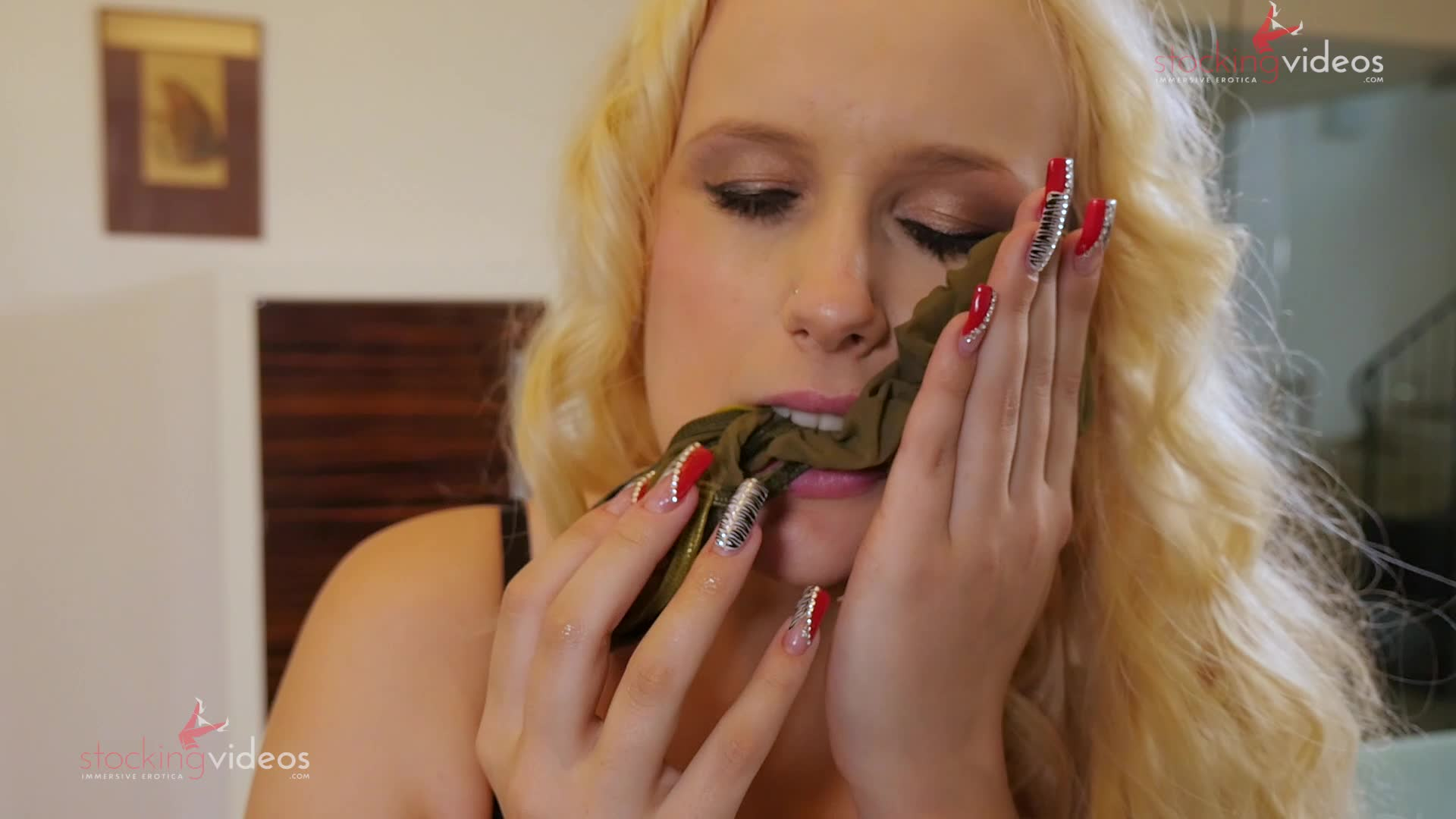 Movie slut stocking
