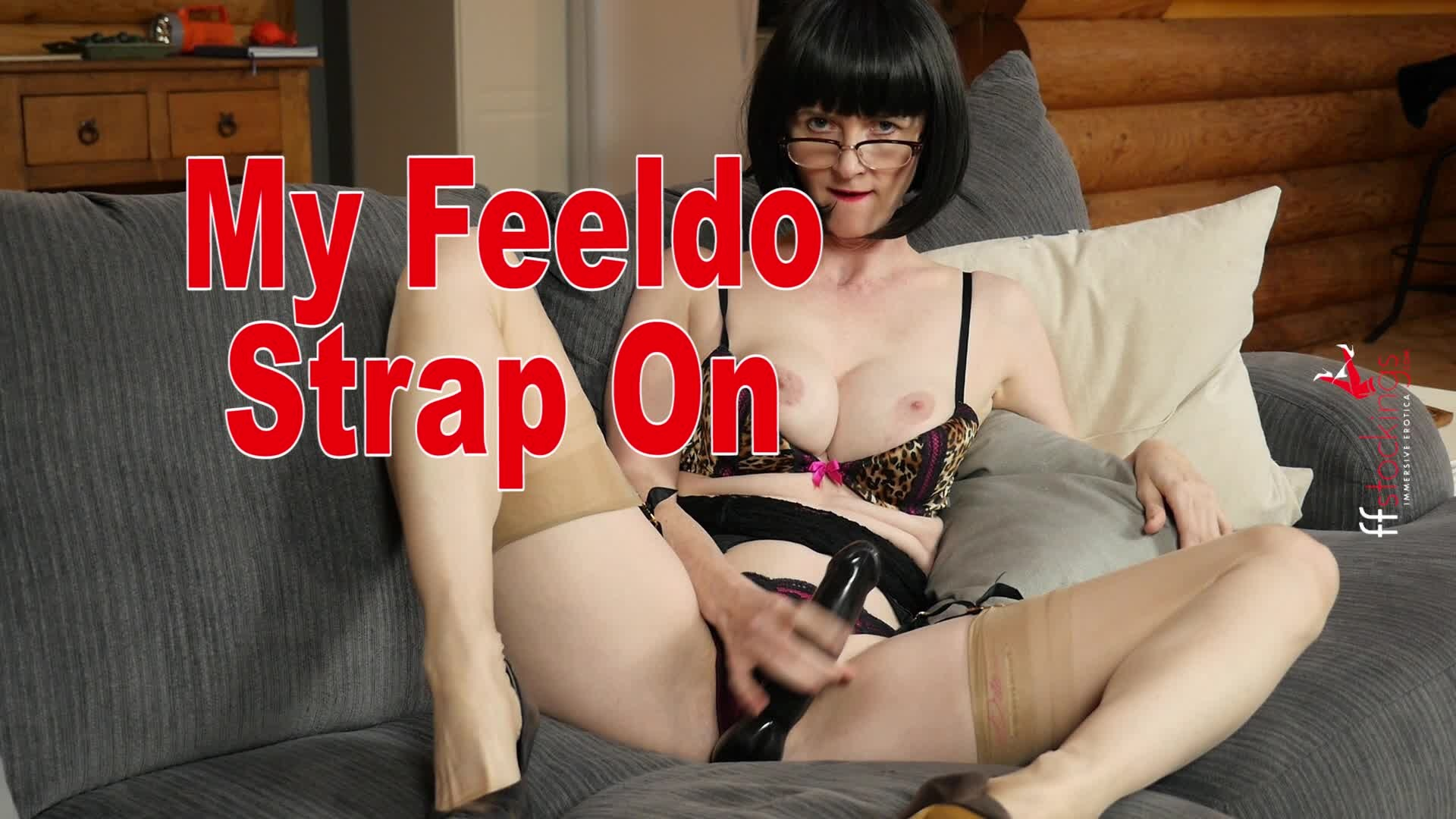 I Love to Get Fucked By My Feeldoe Strap On Dildo